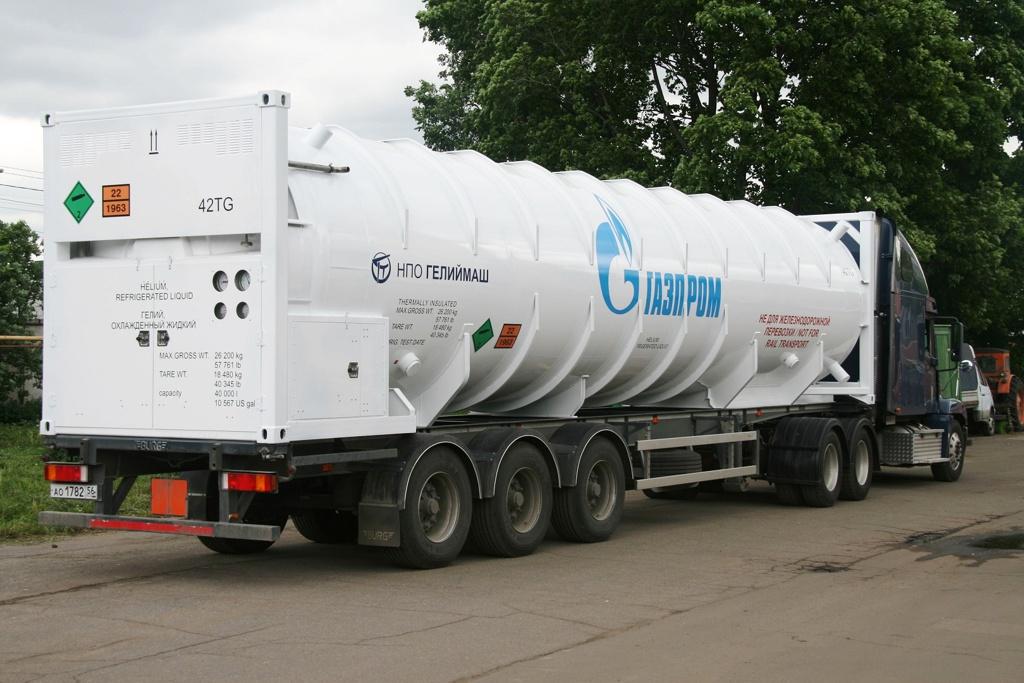 Гелиевый криогенный контейнер-цистерна 40 куб.м.