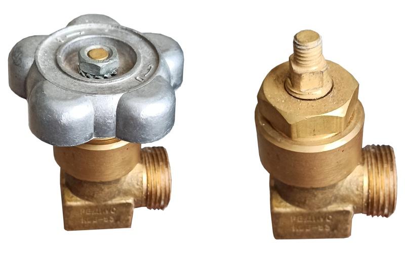 Хвостовик (шпиндель) баллонного вентиля