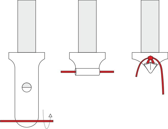 Завязывание фольгированного шара
