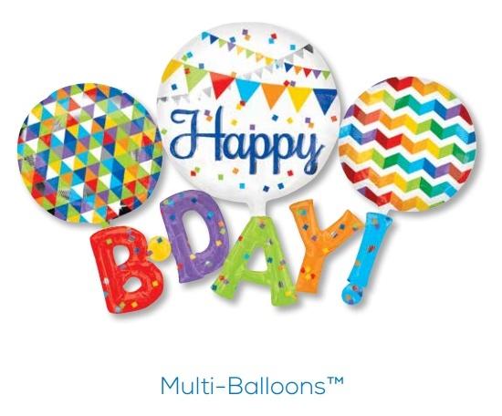 Multi-Balloons Anagram